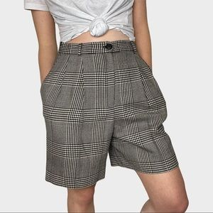 Vintage J.H. Collectibles Houndstooth Shorts 10
